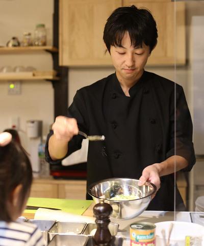 シェフから教わる裏ワザ!de 「料理教室」